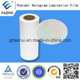 Film de laminage hologramme avec film de stratification chimique à colle EVA (30mic)