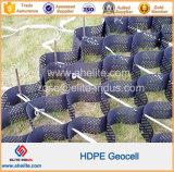 Textura suave y HDPE Geocell utilizado en la construcción de carreteras