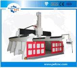 Sg Série 3D do molde de alumínio, madeira Máquina Router CNC