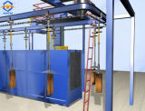 セリウムの証明書が付いているハンガーのチェーンタイプショットブラスト機械