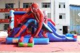 Huis van de Sprong van Spiderman het Opblaasbare met de Dia Combo Chb755 van het Water