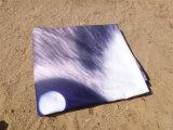de Leuke Kat Microfiber van 155*140cm om de Handdoek van het Strand