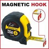 2 tot 10 meten het Magnetische Meetlint van het Geval van de Schok van Tapeline van de Haak Intrekbare Op zwaar werk berekende Absorberende Rubber
