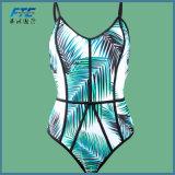 한 조각 2017명의 새로운 여름 여자는 비키니 Beachwear를 위로 민다
