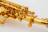 Goede Professionele OEM van de Fabrikant van de Discant Saxofoon Gebogen