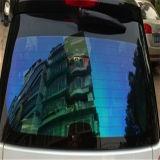 El color de la fuente de la fábrica cambia la película Fint de la ventana del camaleón del arco iris