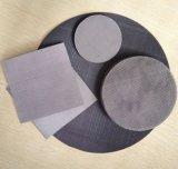 Filtre en acier inoxydable fritté disque / Le disque d'acier plat / disque rond de Filtre Le filtre à eau
