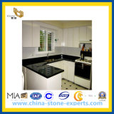 Countertop van de Steen van Brazilië Zwarte voor Keuken (yql-CT0015)