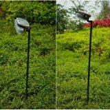 Indicatore luminoso del cortile/lampada solari del giardino l'altezza di Palo registrabile