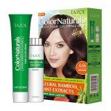 TazolのヘアーケアのColornaturalsの毛カラー(中型のブラウン) (50ml+50ml)