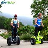 APP van Ecorider E8 de Elektrische Blokkenwagen van de Afstandsbediening/Motor Brusless van de Zelf In evenwicht brengende Autoped van de Weg