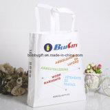 Изготовленный на заказ способ рециркулирует Non сплетенный мешок бакалеи Tote покупкы подарка