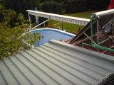 Chauffe-eau solaire Flt Plate pour piscines