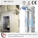 Ascenseur de position de silo de moulin à farine d'acier inoxydable