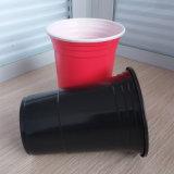 16oz 450ml Wegwerf-pp. Plastikrot-Solo Partei-Cup