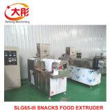 Alimentos para animais de origem animal nos alimentos para peixes Pellet linha de processamento do extrusor