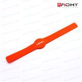 Étiquette Sèche de Bracelet de Silicones D'IDENTIFICATION RF de Carte Principale D'adhésion