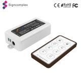 Telecontrol síncrono del regulador del RGB LED de la radio de China 2.4G con el Ce RoHS FC