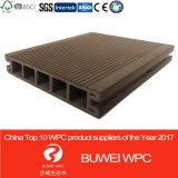 Decking de l'extrusion WPC de PVC Co de 138*23mm pour extérieur