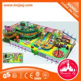 Замок пластичного мягкого оборудования спортивной площадки игры крытого капризный