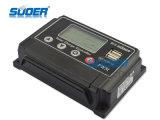 Suoer Solar Regolatore 12 / 24V 10A Regolatore solare della carica Regolatore con uscita 5V 1A USB per uso domestico regolatore solare (ST-W1210)