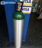 ضغطة عارية ألومنيوم أكسجين [ك2] أسطوانة غاز