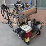 Portable avec double machine à traire les godets et les moteurs doubles