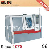 Alta máquina del torno del metal del CNC de la rigidez, torno de la precisión
