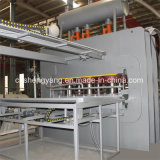 Máquina caliente hidráulica de la prensa de la carpintería del MDF que lamina