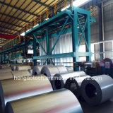 A tira de metal da fonte do fabricante bobina a linha de revestimento da cor, linha revestida cor