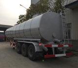 40000L Tri-Axle Heating Device Asphalt Tank Semi Trailer