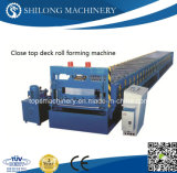 CE Approved Lifetime Service Metal Floor Decking Roll Forming Machine con l'iso