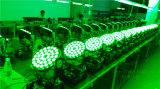 36X18W RGBWA+UV 6in1の洗浄ズームレンズのビームLED移動ヘッドライト