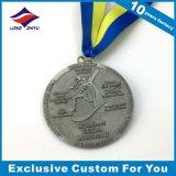 Fornecedor feito sob encomenda do medalhão do metal do desafio dos esportes das medalhas do OEM em China