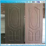 Sapelliの科学技術の木のベニヤが付いている形成されたドアの皮の合板