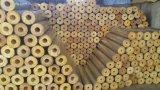 Schalldichte akustische Wärmeisolierung-Glaswollen für Klimaanlagen-Leitung-Systems-Isolierungs-Rohr