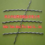 Fibra concreta do fio de aço