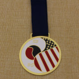 2015 personalizados de Metal Soft enamel Medalla Taekwondo
