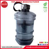 a garrafa de água plástica BPA da aptidão da forma 2.2L livra com tampão