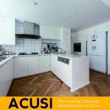 Cabinas de cocina modernas modificadas para requisitos particulares venta al por mayor de la laca del estilo de Australia de la fábrica (ACS2-L08)