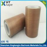 Cinta adhesiva del paño de la fibra de vidrio del Teflon para la máquina de la soldadura