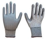 Hppe a coupé les gants résistants de coupure de noir