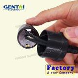 Heißer Verkaufs-Selbstzigaretten-Stecker mit Sicherung zur Selbstzigaretten-Inline-Kontaktbuchse, Auto-Aufladeeinheits-Spirale-Kabel