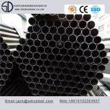 Ss330 Q195 Kohlenstoff-rundes schwarzes getempertes Möbel-Stahlrohr für Falz-Stühle