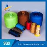 Al por mayor del hilo de coser 100% de la fibra de grapa de poliester de la alta calidad