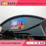 La publicité extérieure DEL d'affichage vidéo polychrome de P10, intense luminosité