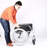 Cadeira de rodas Foldable leve do manual da liga de alumínio