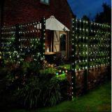 Luz decorativa estrelado bonita e romântica de cobre solar da corda do diodo emissor de luz para o partido interno do Natal
