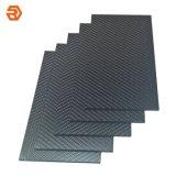 Plain/Twill Satinado Mate/Hoja de fibra de carbono/placa/Board