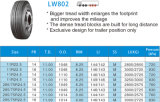 покрышки шины покрышек тележки покрышек 11R24.5 11/24.5 LW802 TBR